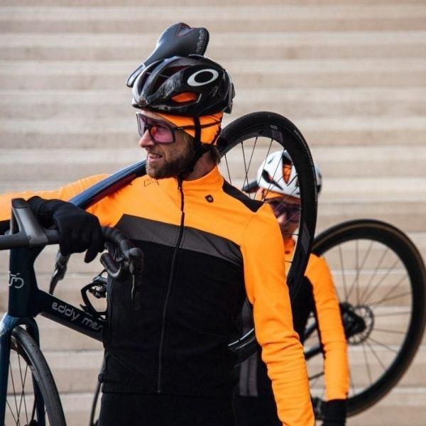 BIORACER CHAQUETA TEMPEST FLUO ORANGE - Lastra Team Bikes