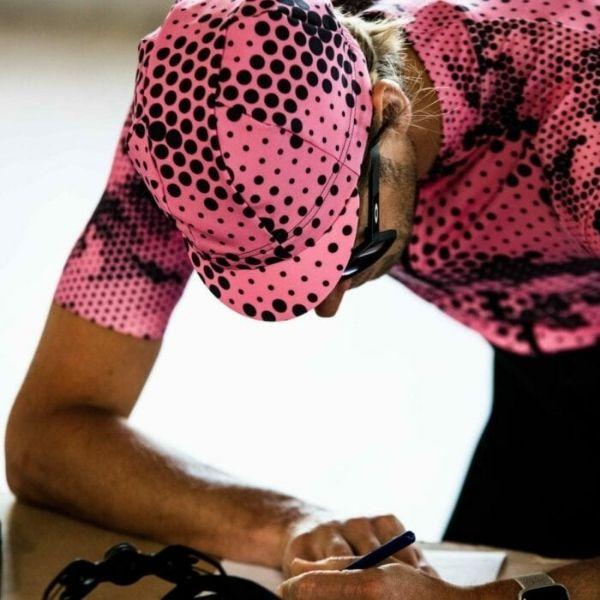 BIORACER GORRA TECH CAMO DOT GIRO - Lastra Team Bikes