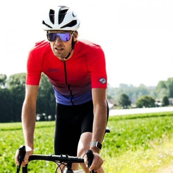 BIORACER MAILLOT SPITFIRE JUPITER SUNSET RED - Lastra Team Bikes