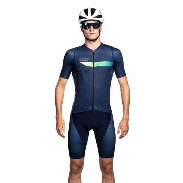 BIORACER MAILLOT SPITFIRE NEON BLUE - Lastra Team Bikes