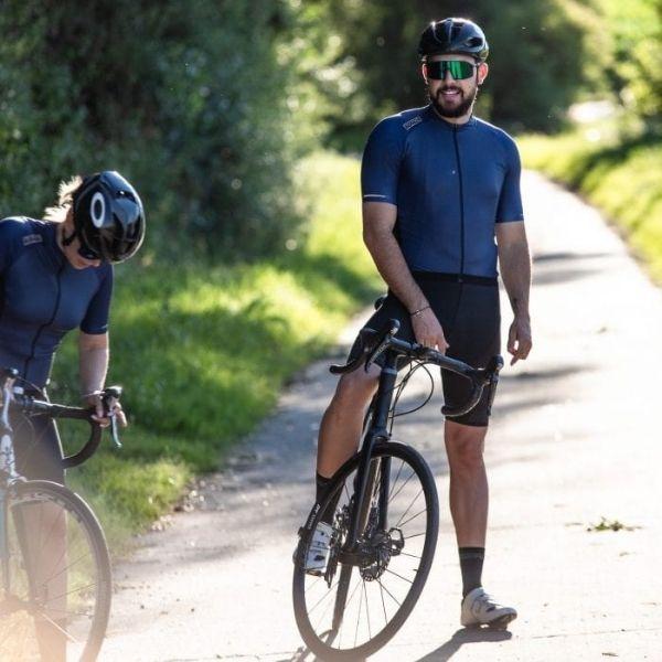 BIORACER MAILLOT SPRINTER COLDBLACK LIGHT NAVY - Lastra Team Bikes