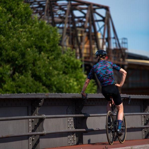 BIORACER MAILLOT EPIC CAMO21 OLIVE BLUE - Lastra Team Bikes
