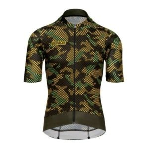 BIORACER MAILLOT EPIC CAMO21 OLIVE YELLOW - Lastra Team Bikes