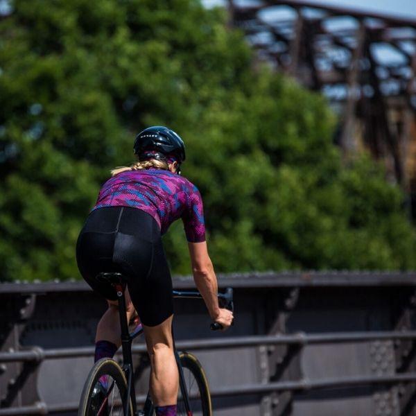 BIORACER MAILLOT EPIC CAMO21 PARA MUJER BORDEAUX - Lastra Team Bikes