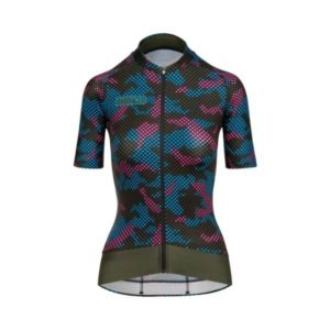 BIORACER MAILLOT EPIC CAMO21 PARA MUJER OLIVE BLUE - Lastra Team Bikes