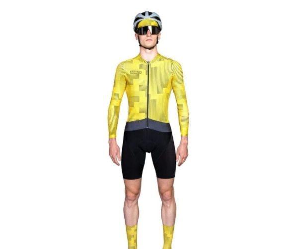 BIORACER MAILLOT EPIC WARP YELLOW - Lastra Team Bikes