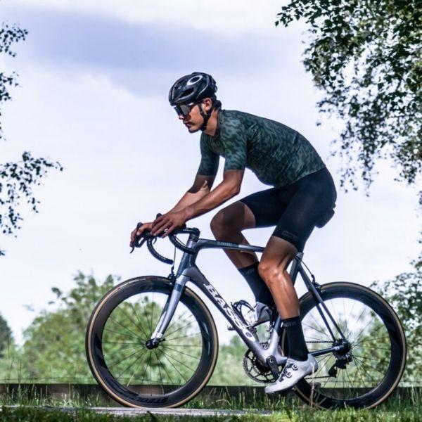 BIORACER MAILLOT SPITFIRE OLIVE NOISE - Lastra Team Bikes