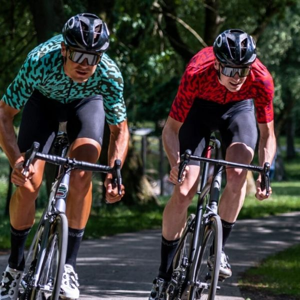 BIORACER MAILLOT SPITFIRE RED NOISE - Lastra Team Bikes
