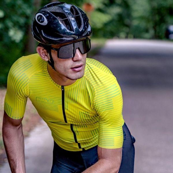 BIORACER MAILLOT SPITFIRE WARP CITRON YELLOW - Lastra Team Bikes