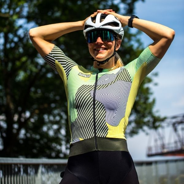 BIORACER MAILLOT EPIC KONTUR PARA MUJER OLIVE YELLOW - Lastra Team Bikes