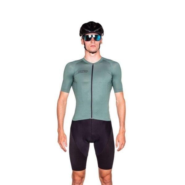 BIORACER MAILLOT METALIX GREEN - Lastra Team Bikes