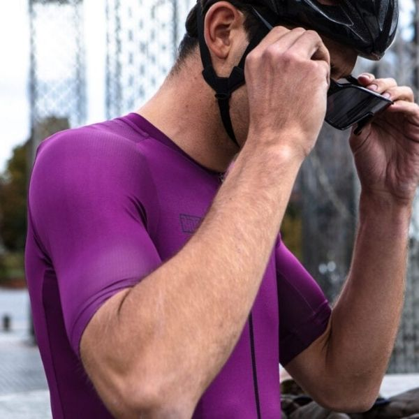 BIORACER MAILLOT METALIX PURPLE - Lastra Team Bikes